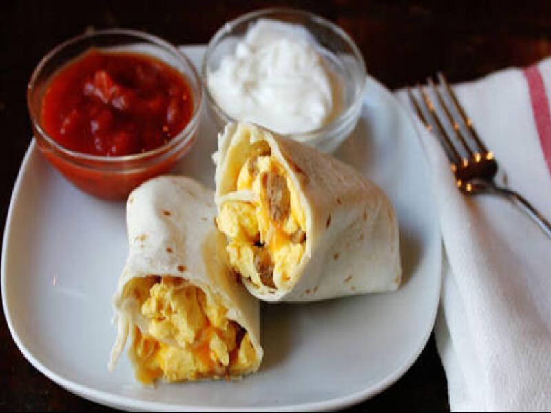 Make Ahead Breakfast Burritos Healthy Recipe