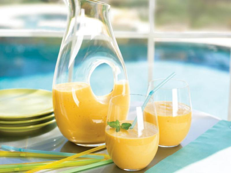 Mango Avocado Smoothie  Healthy Recipe