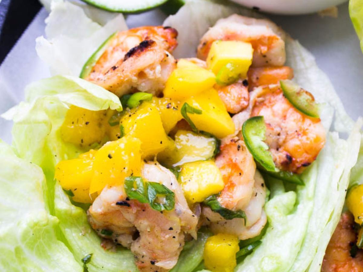 Mango Coconut Shrimp Healthy Recipe