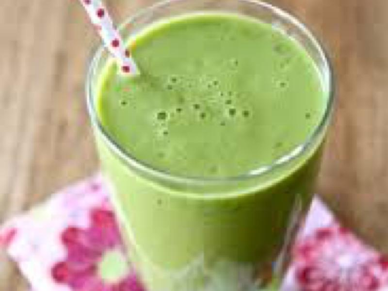 Mango Pineapple Green Smoothie Healthy Recipe