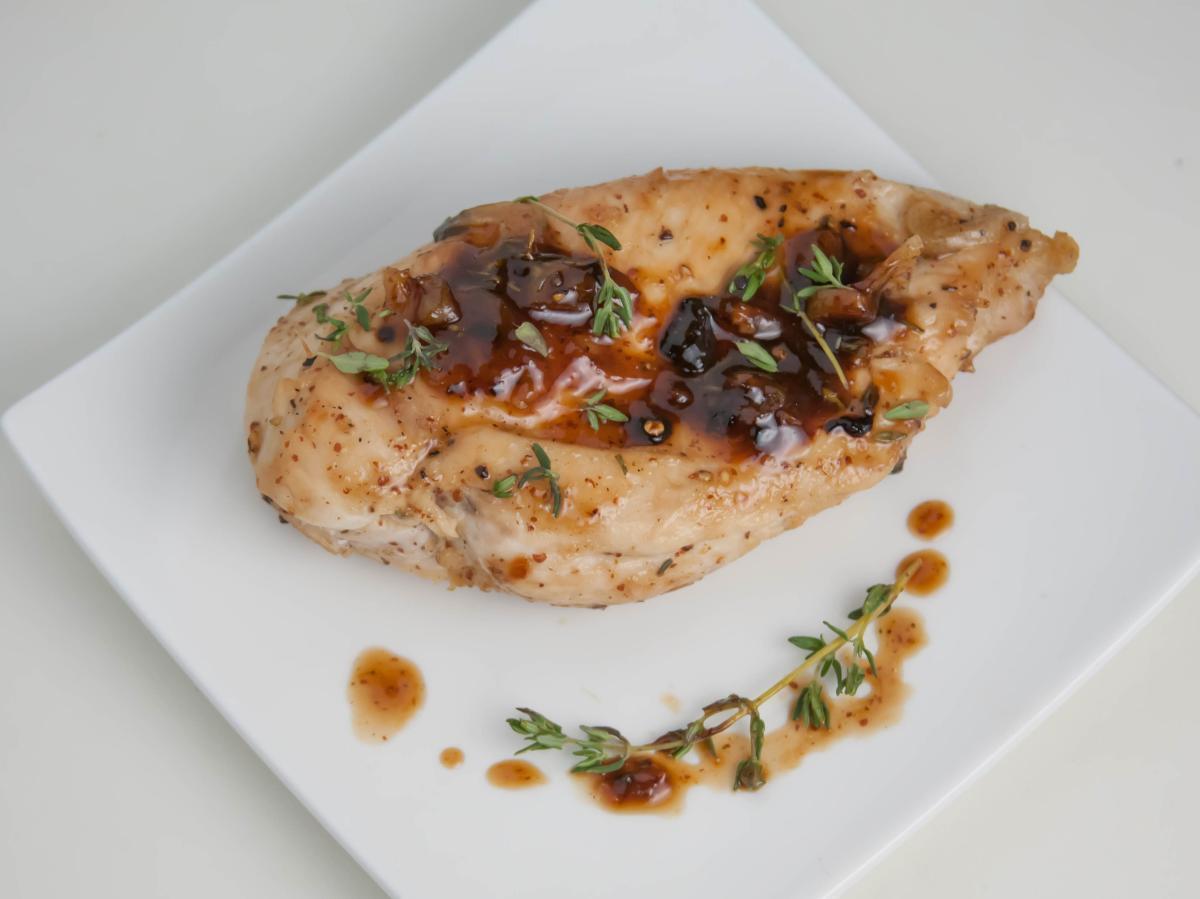 Maple Glazed Chicken Healthy Recipe