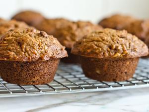 Maple Walnut Protein Muffin Healthy Recipe