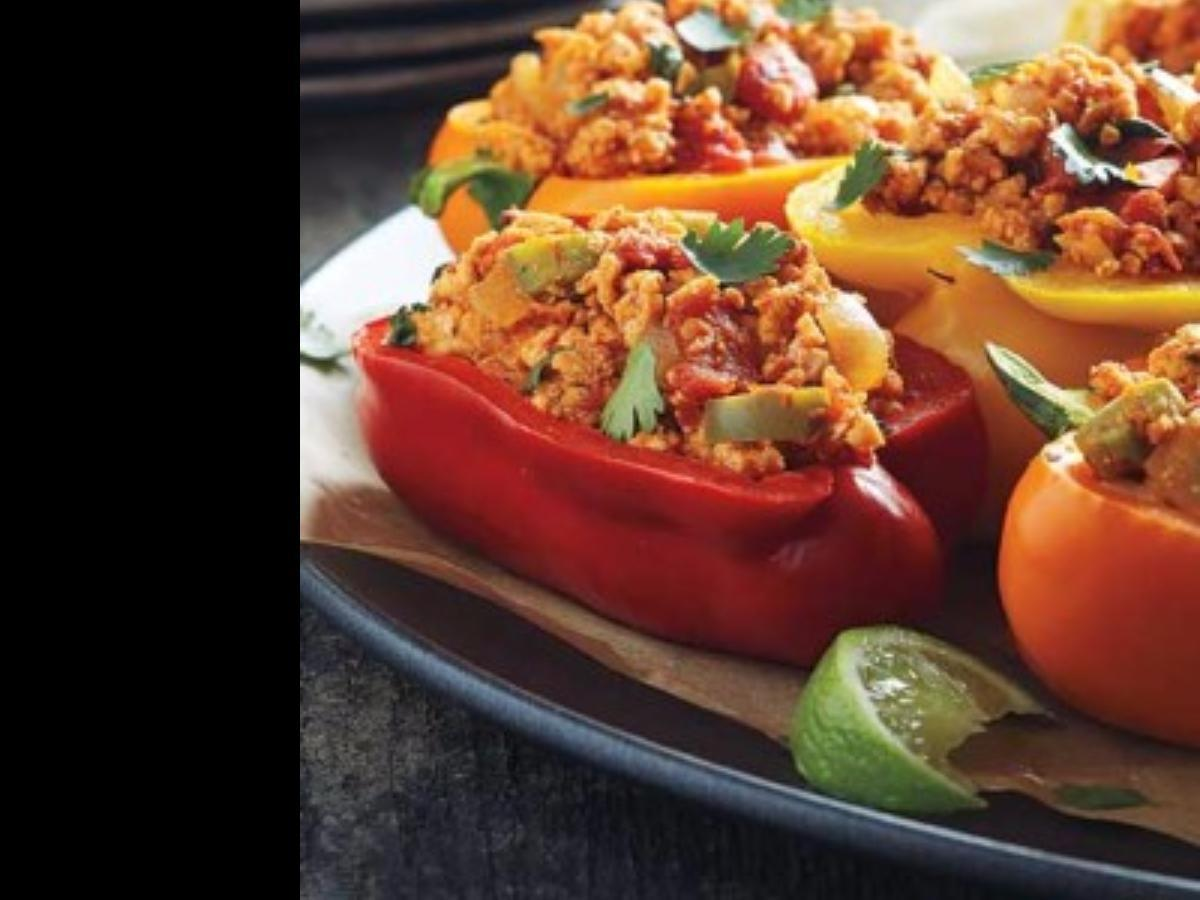 Mexican Chicken Stuffed Peppers Healthy Recipe