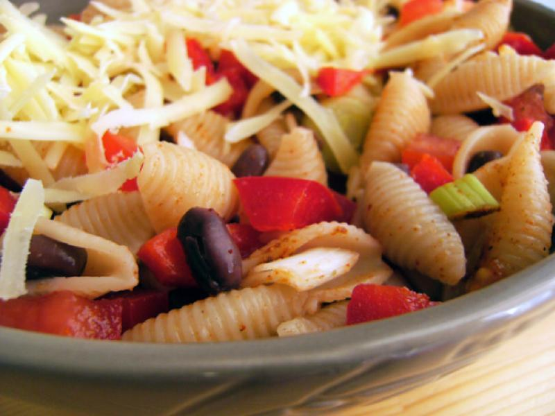 Mexican Pasta Salad Healthy Recipe