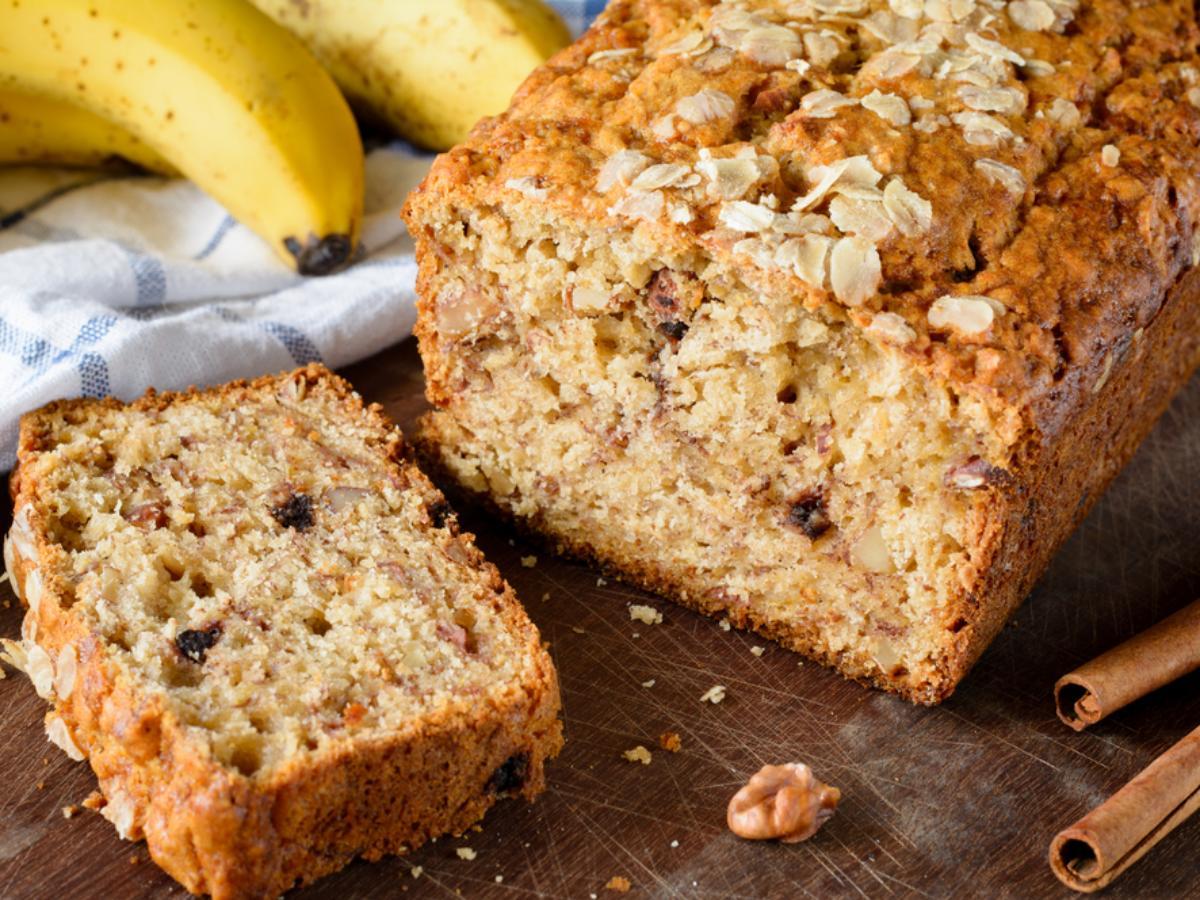 Microwave Vanilla Banana Oat Cake Healthy Recipe