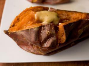 Microwaved sweet potato Healthy Recipe
