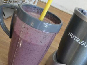 Mixed Berry Morning Smoothie Healthy Recipe