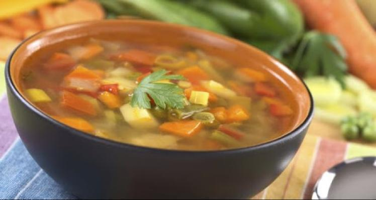 Mixed Vegetable Soup Healthy Recipe