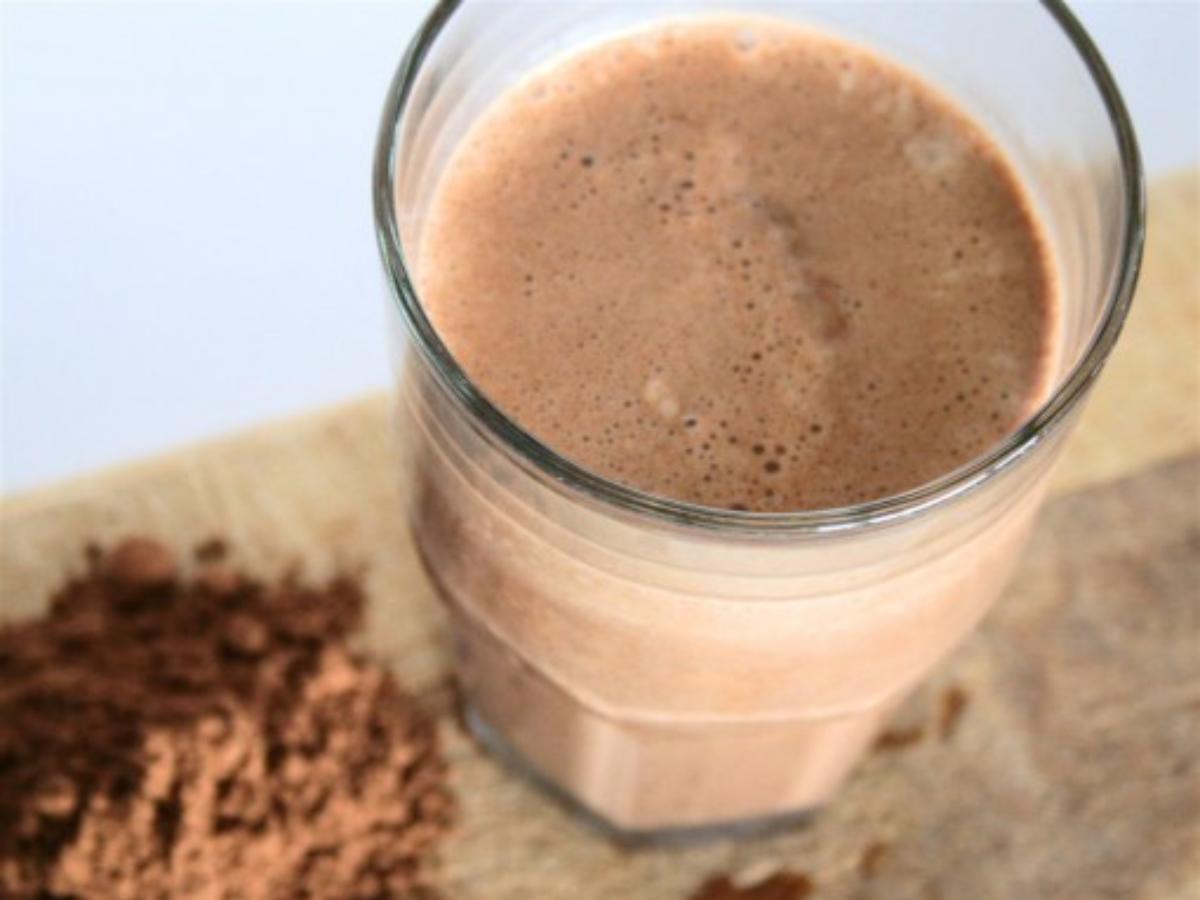 Mocha Coffee Protein Shake Healthy Recipe