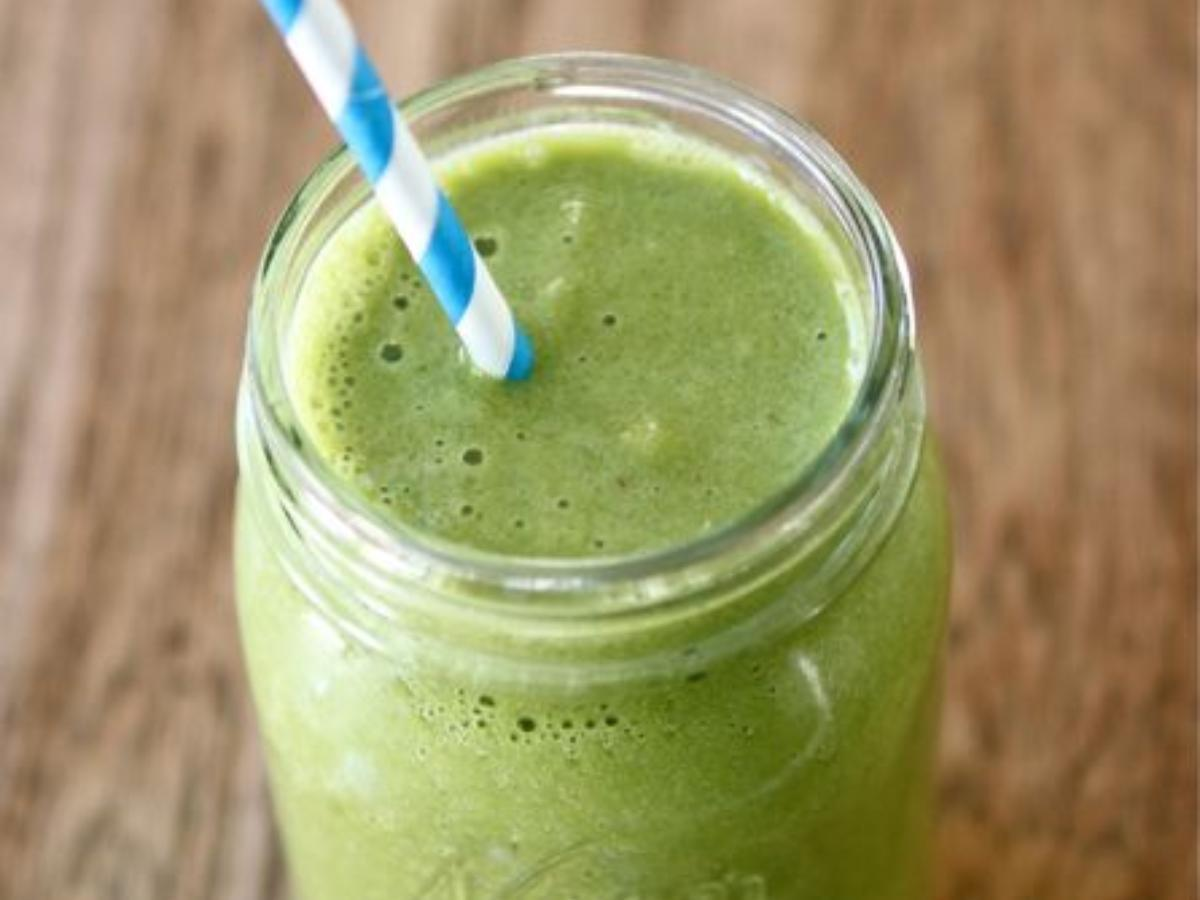 Morning Green Smoothie Healthy Recipe