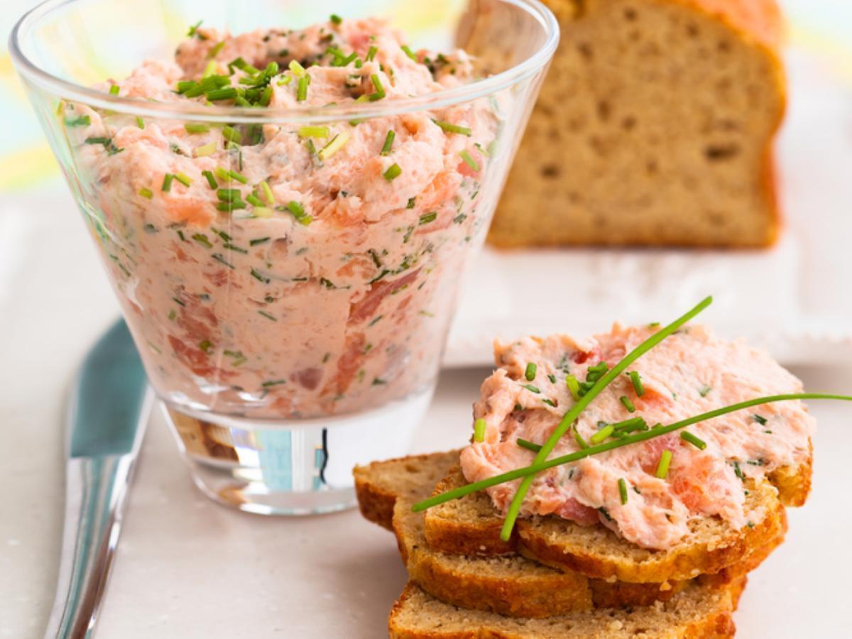 Morning Salmon Salad Healthy Recipe