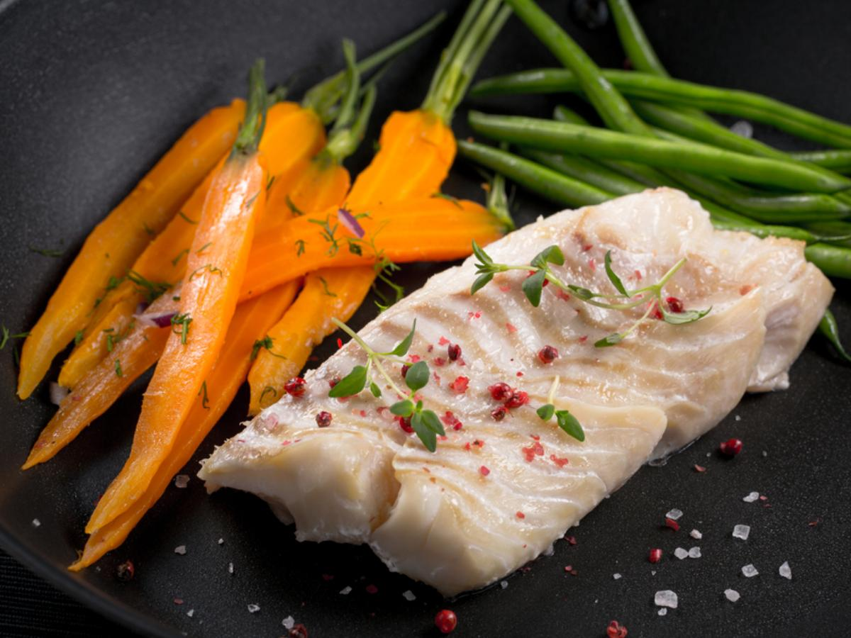 Moroccan Halibut and Carrots Healthy Recipe