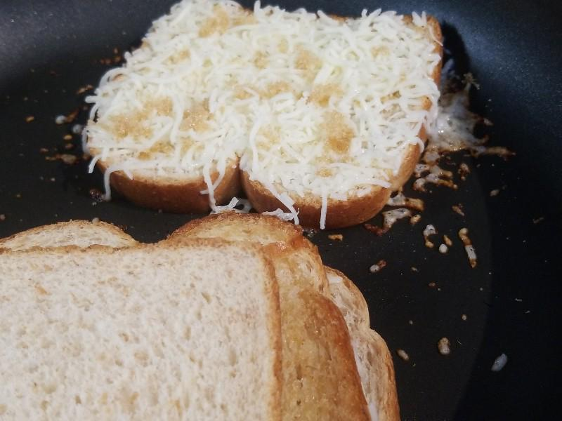Mozzarella Sweet Grilled Cheese Healthy Recipe
