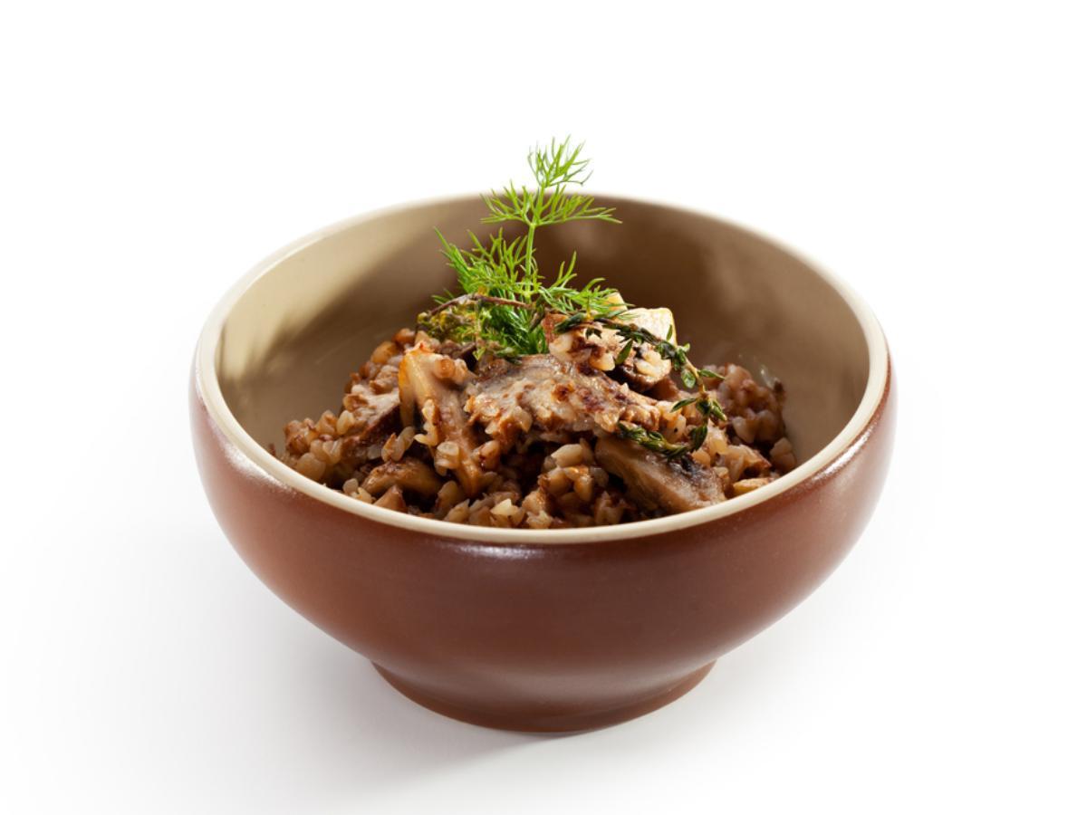 Mushroom Millet Soup Healthy Recipe