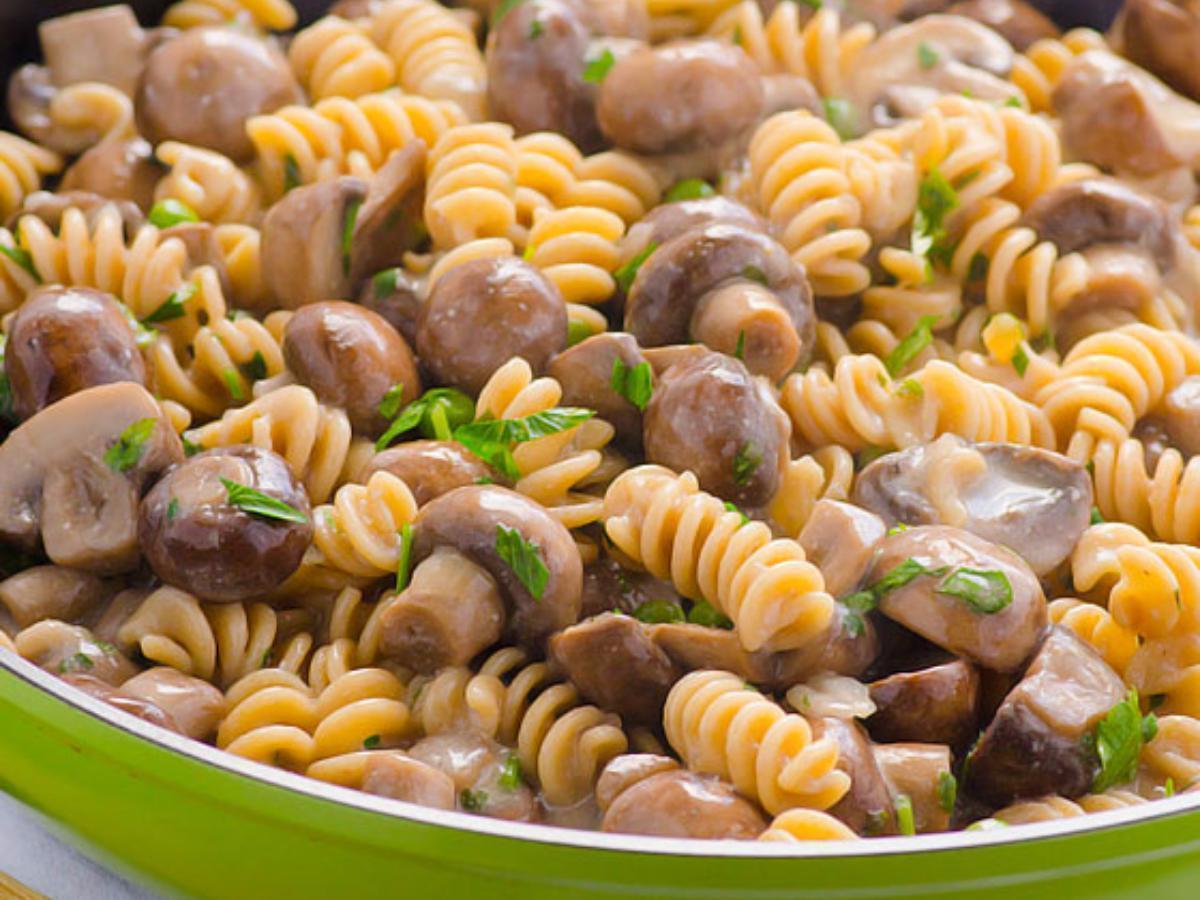 Mushroom Stroganoff Healthy Recipe
