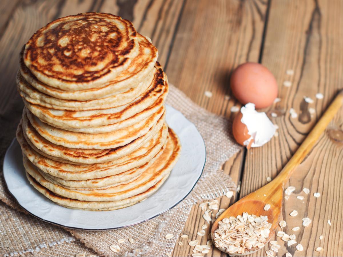 Oat Pancakes Healthy Recipe