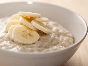 Oats with Rice Milk and Banana Healthy Recipe
