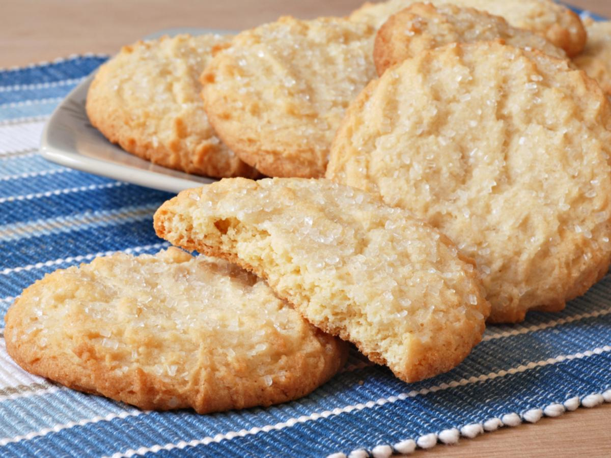 Off-to-Bed Butter Cookies Healthy Recipe