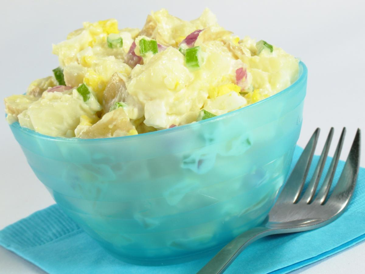 Old-Fashioned Potato Salad Healthy Recipe