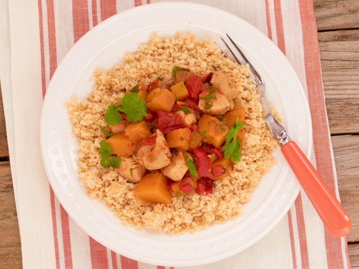 One-Pot Chicken & Butternut Squash Stew Healthy Recipe