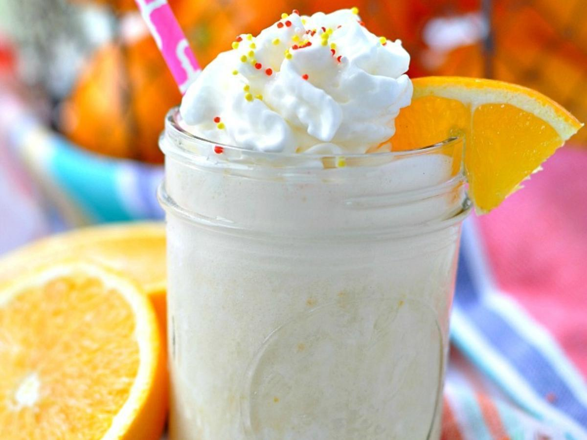 Orange Dream Protein Smoothie Healthy Recipe
