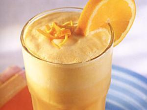 Orange-Vanilla Protein Smoothie Healthy Recipe