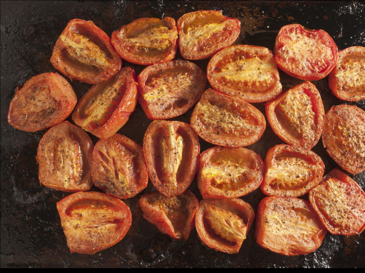 Oven-Roasted Plum Tomatoes Healthy Recipe
