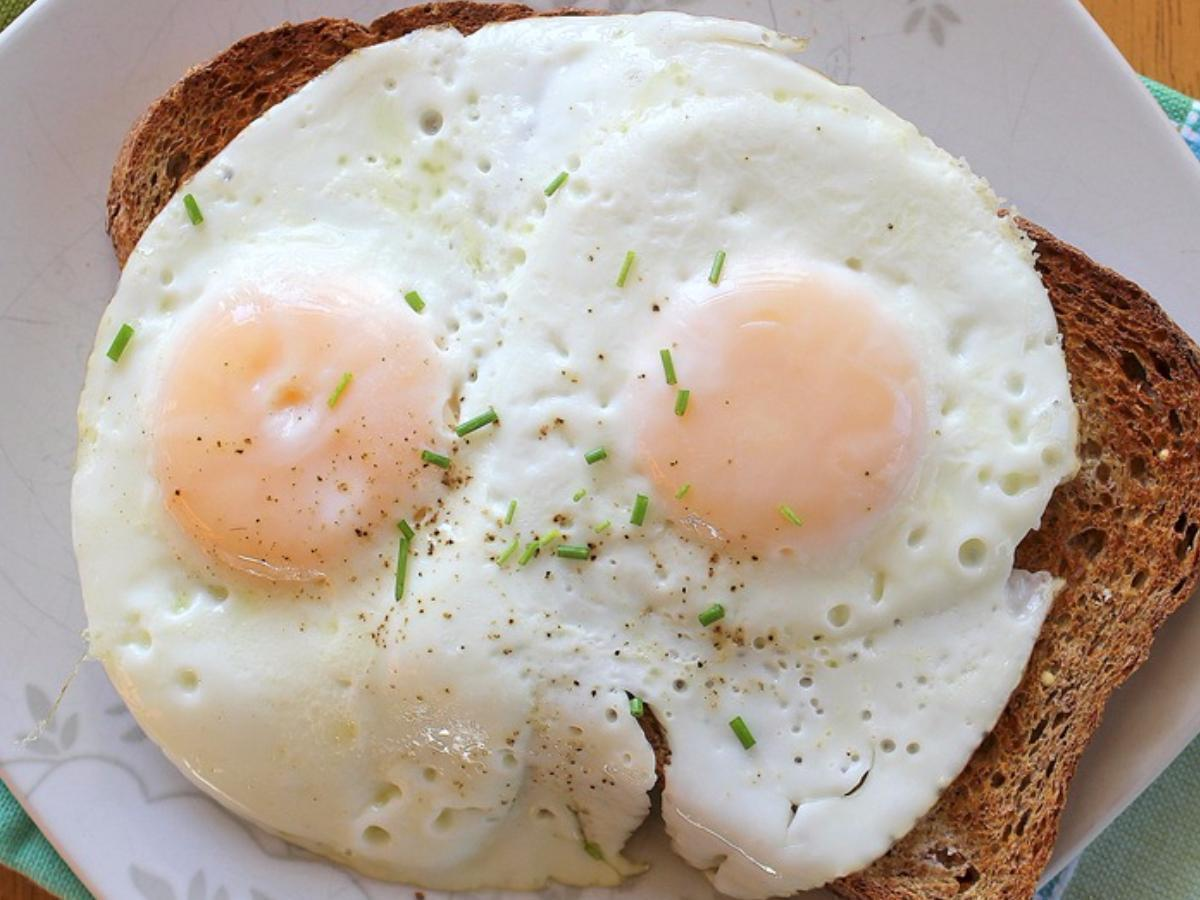 Over Easy Eggs Healthy Recipe