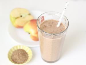 Overnight Apple Cinnamon Smoothie Healthy Recipe