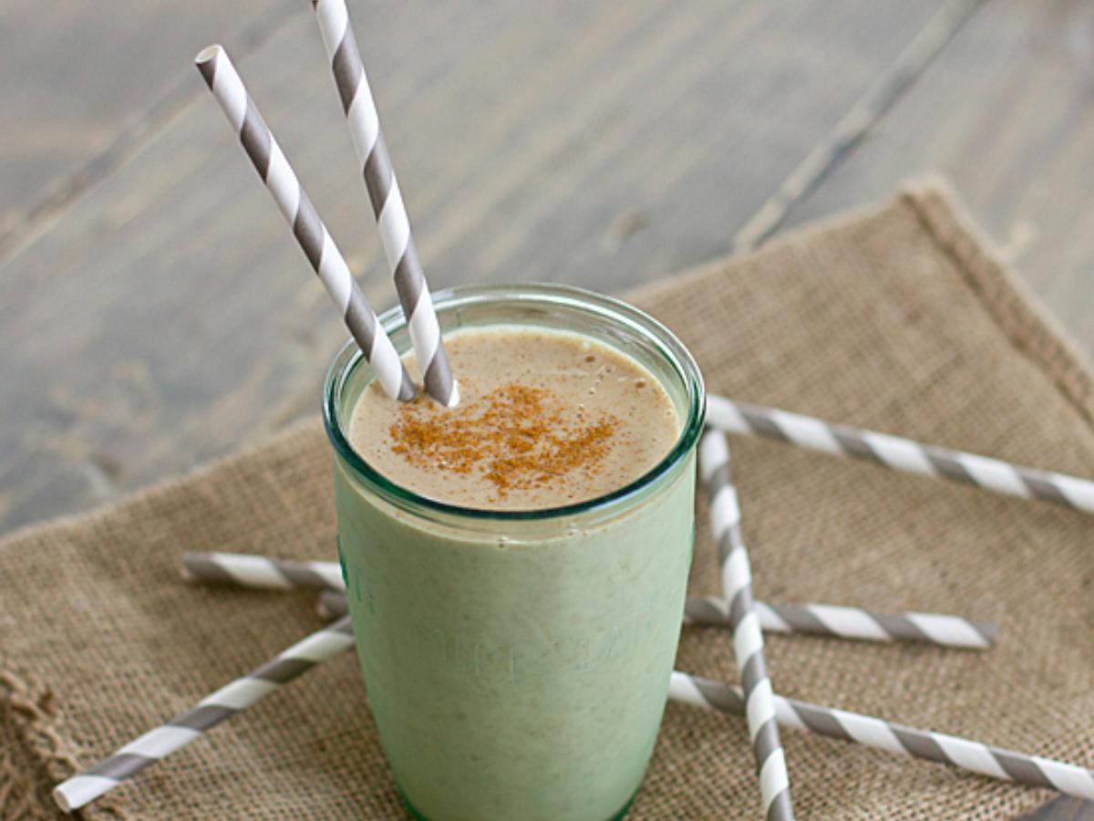 Overnight Banana Chai Breakfast Shake Healthy Recipe