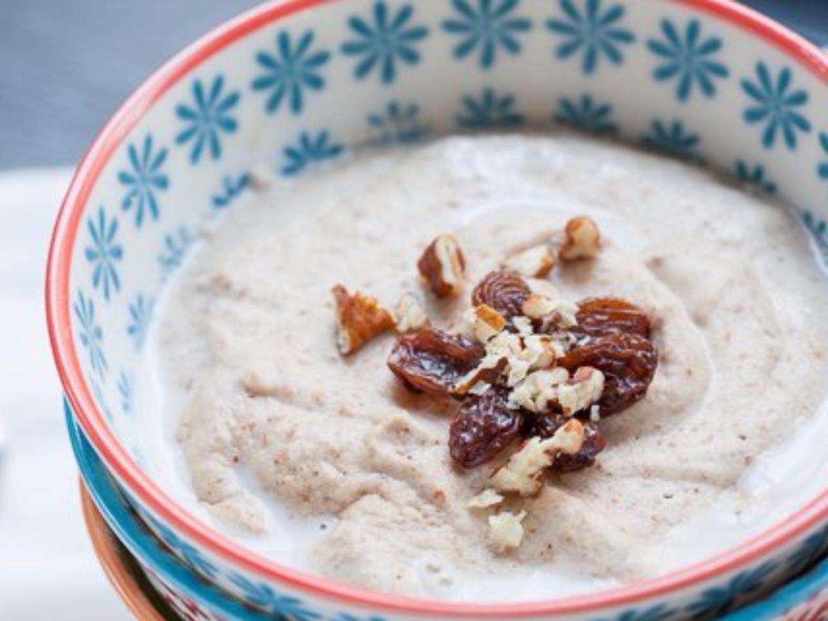 Overnight Banana Nut Porridge Healthy Recipe