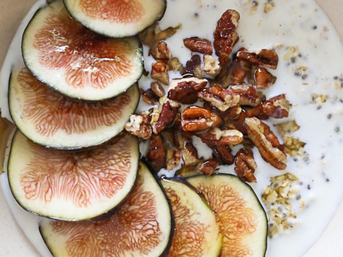 Overnight Oats with Figs and Honey Healthy Recipe