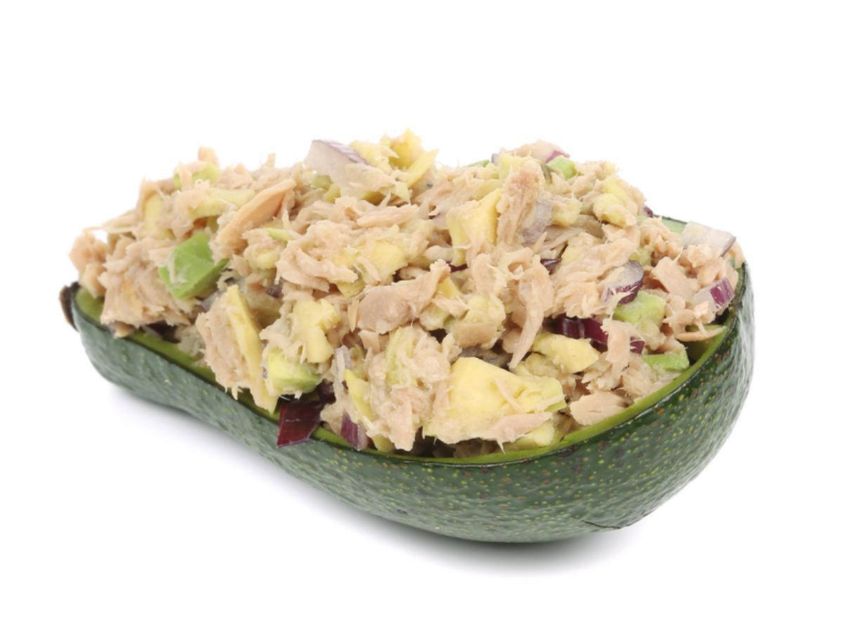 Paleo Avocado Tuna Salad (Tuna in Water) Healthy Recipe