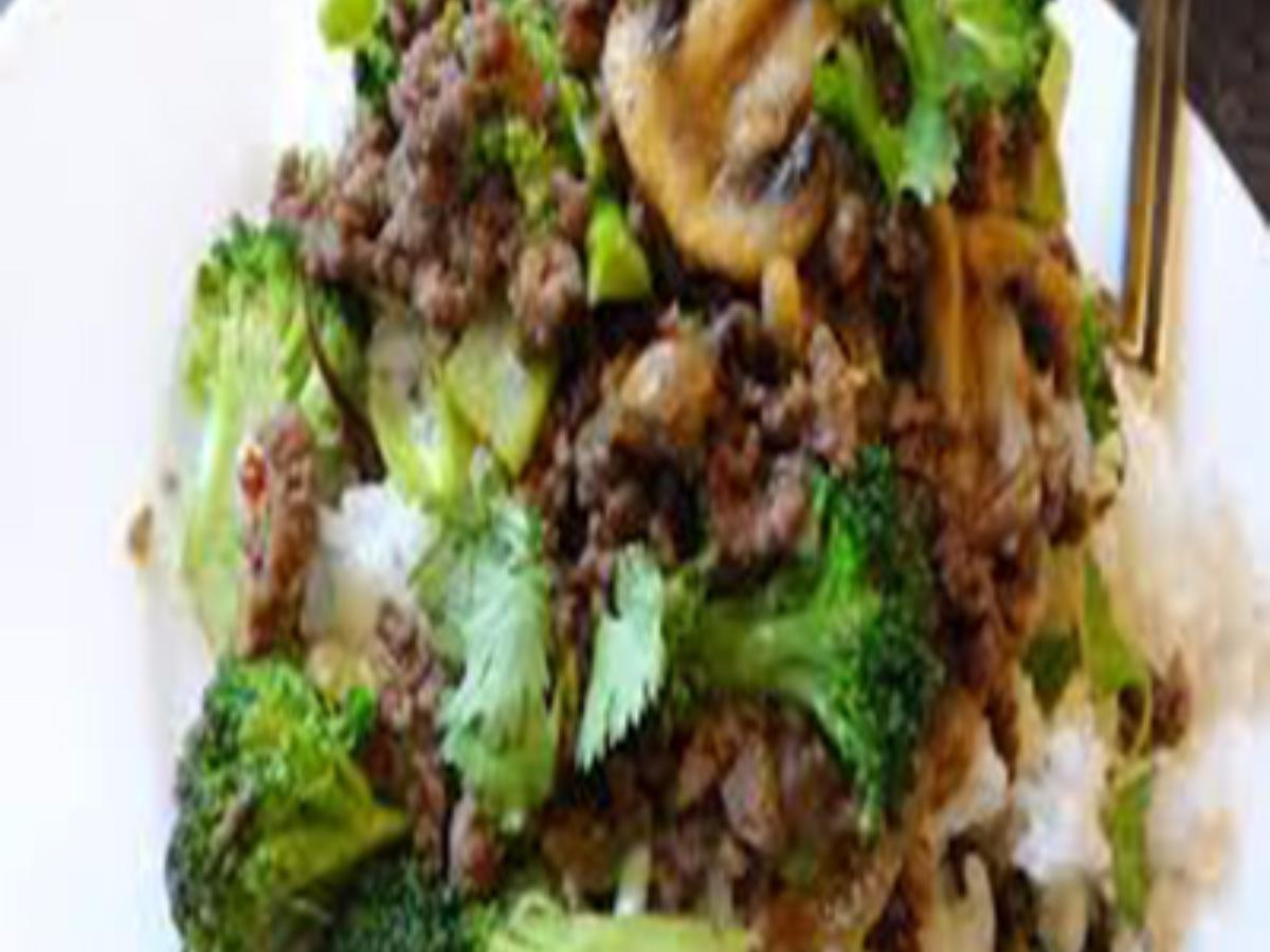 Paleo Ground Beef Stir-Fry Healthy Recipe