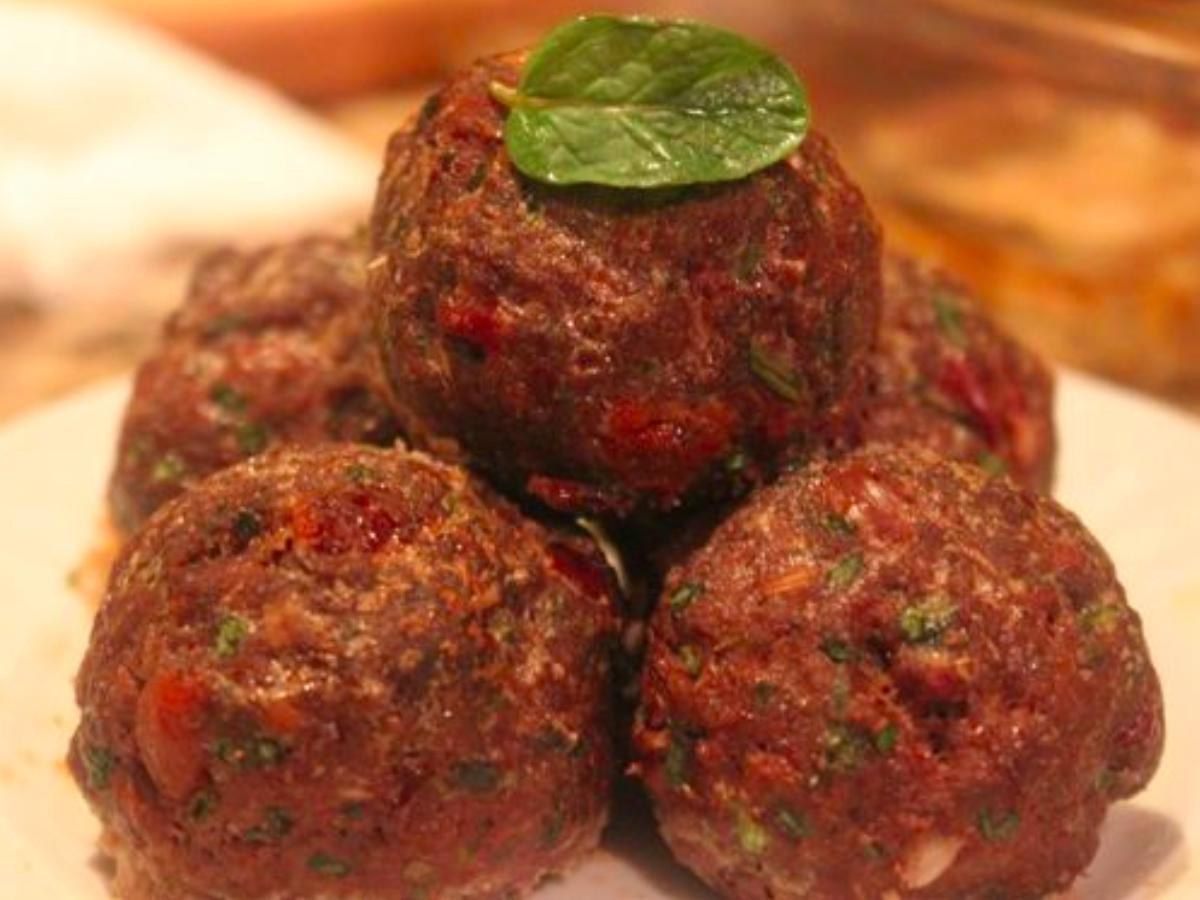 Paleo Mediterranean Meatballs Healthy Recipe