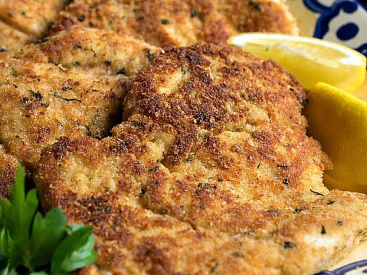 Parmesan Chicken Cutlets Healthy Recipe
