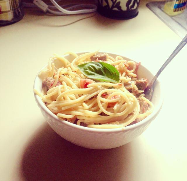 Pasta Caprice Healthy Recipe