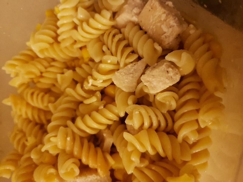 Pasta with Corn and Chicken Healthy Recipe