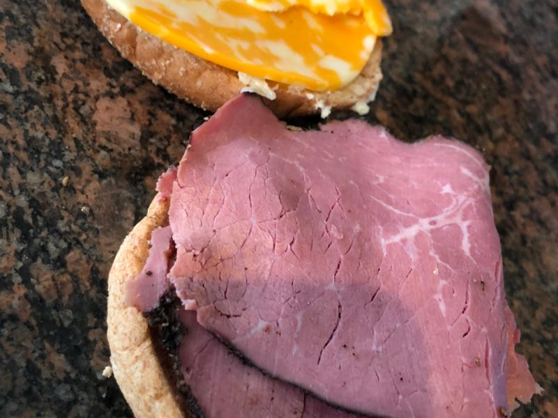 Pastrami and Cheese Roll Healthy Recipe