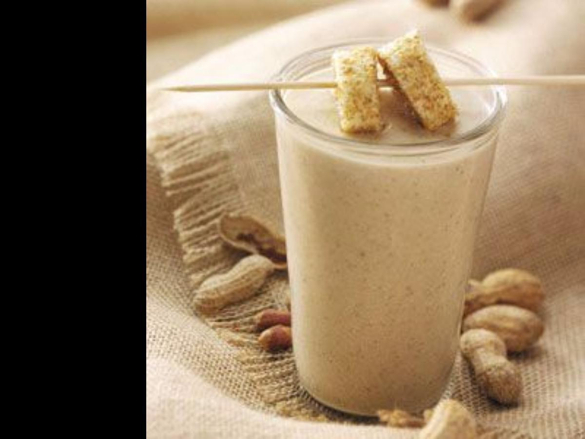 Peanut Butter Banana Smoothie Healthy Recipe