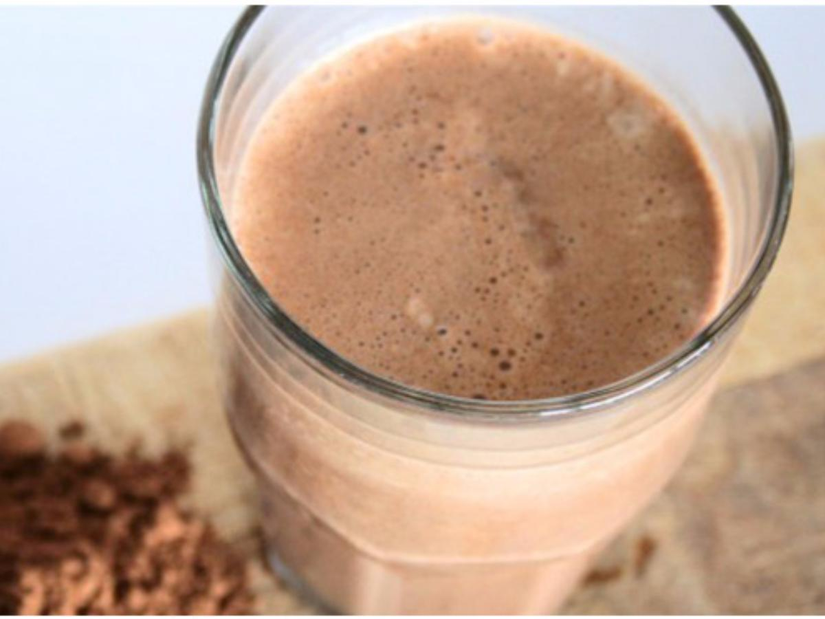 Peanut Butter Protein Milkshake Healthy Recipe