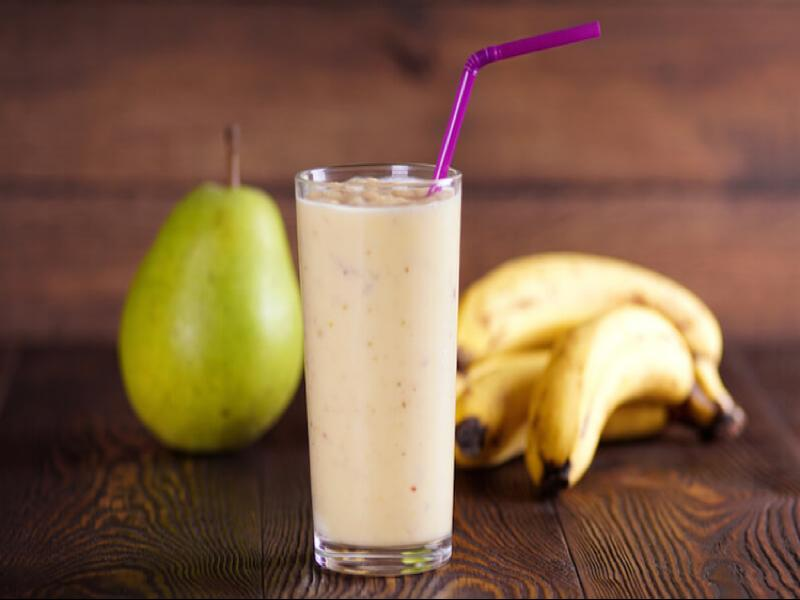 Pear Banana Smoothie Healthy Recipe