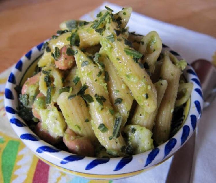 Penne With Pinto Beans Healthy Recipe