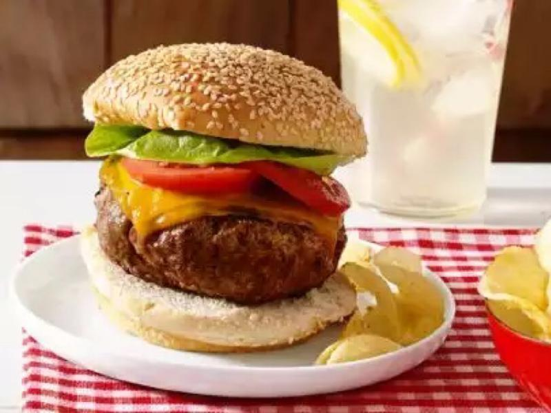 Perfect Beef Burger Healthy Recipe