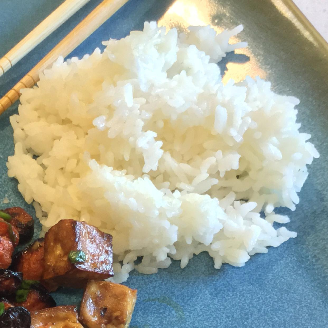 Perfect Steamed Rice Healthy Recipe