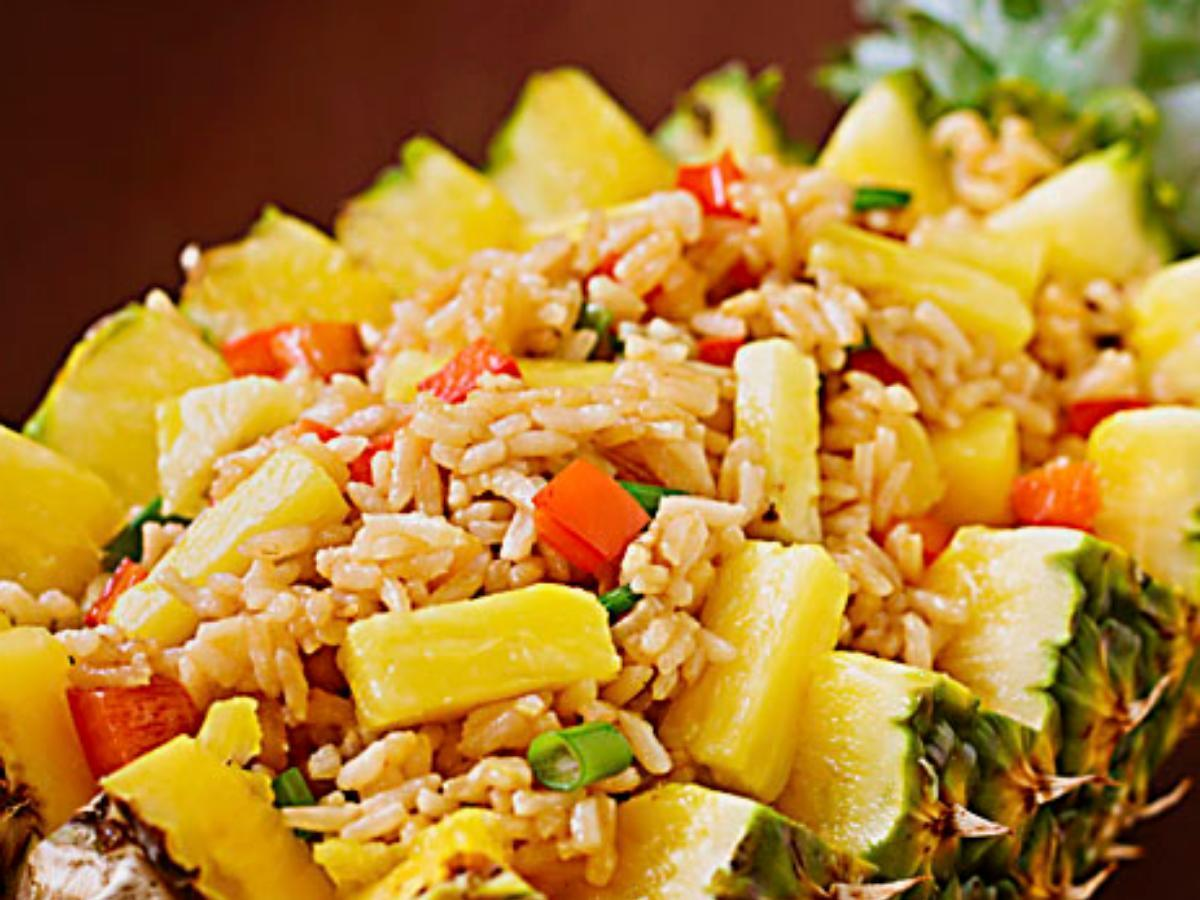 Pineapple Fried Rice Healthy Recipe