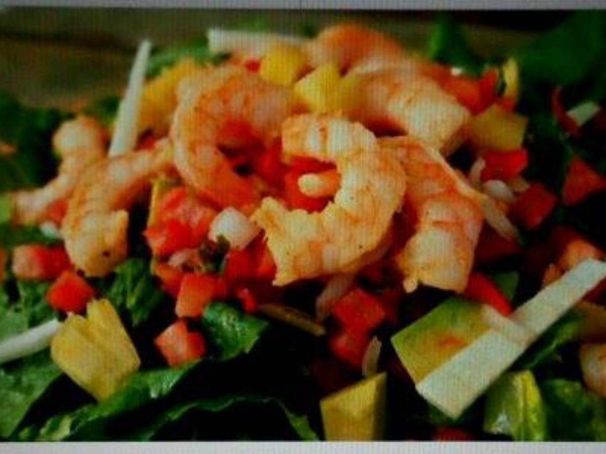 Pineapple Shrimp Salad Healthy Recipe