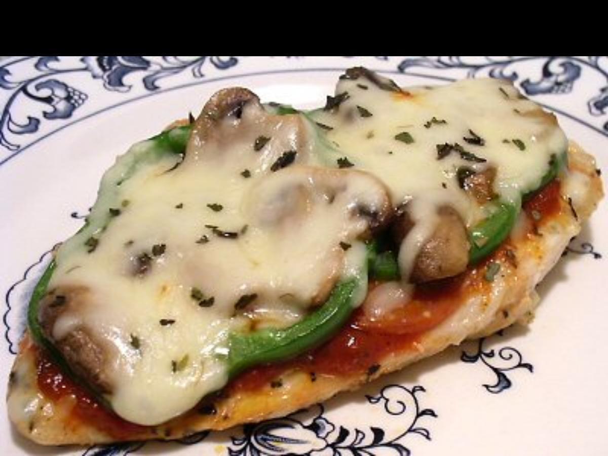 Pizza Chicken Healthy Recipe