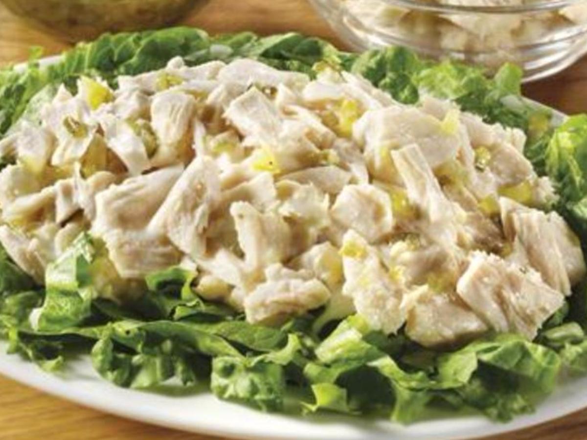 Plain Tuna Salad Healthy Recipe