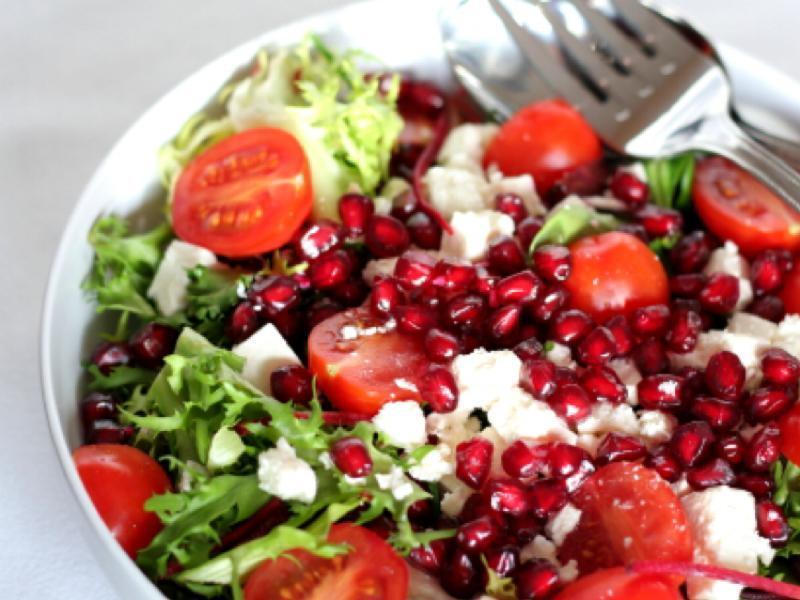 Pomegranate Salad Healthy Recipe